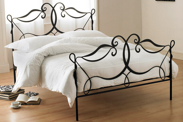 17 best images about iron beds on pinterest hanging beds iron bed frames and full size headboard