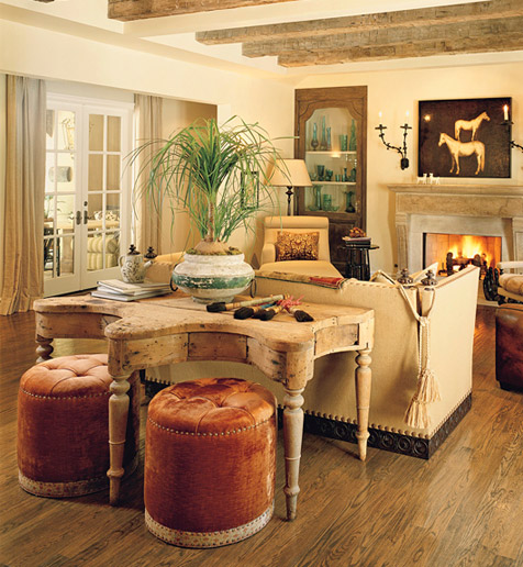 Celebrity Living Rooms - Architectural Digest