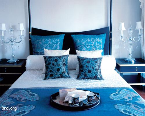 Though  this wonderful bed design is far from conservative  Found this  lovely idea at Home Decoration Collection. blue   Apartments i Like blog   Page 2
