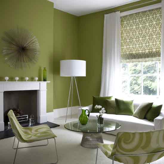 Green Living Room Ideas For Soothing Sophisticated Spaces: Apartments I Like Blog