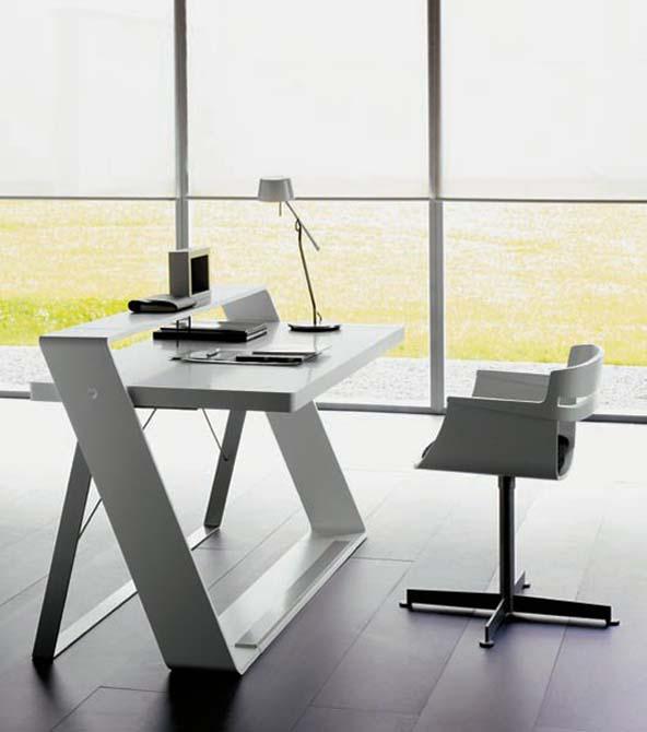 modern home desk office