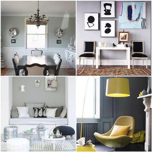 Grey And Yellow Walls: Apartments I Like Blog