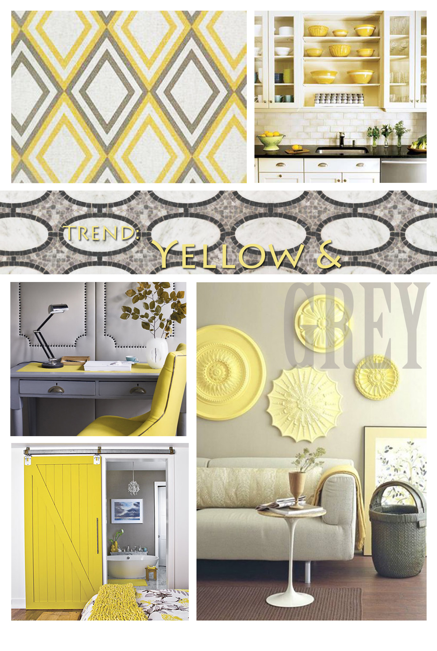 Trend yellow and grey apartments i like blog - Grey and yellow room ...