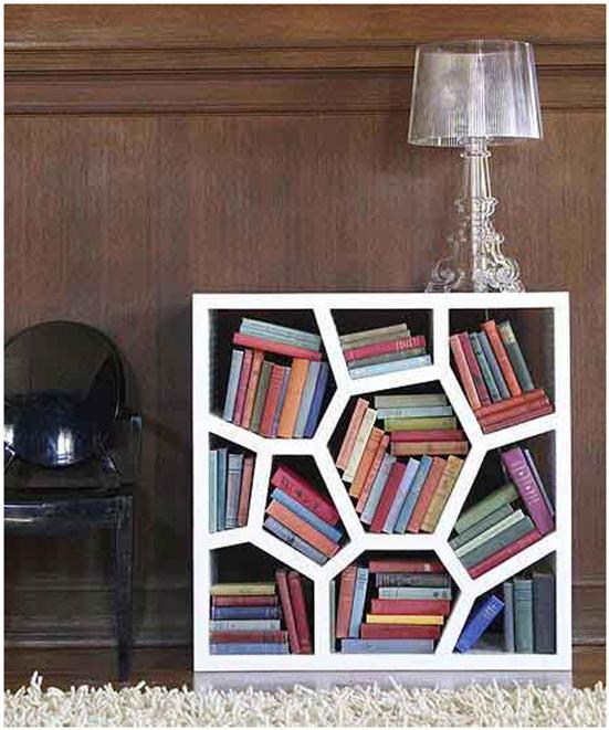unusual bookshelf plans