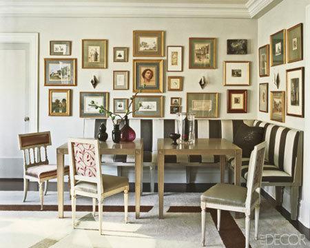 Dining room stencils