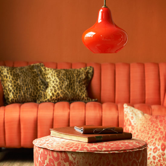 Color Inspiration – Orange And Pink