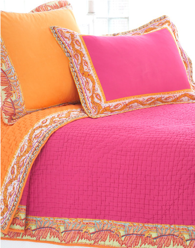 color inspiration orange and pink apartments i like blog. Black Bedroom Furniture Sets. Home Design Ideas
