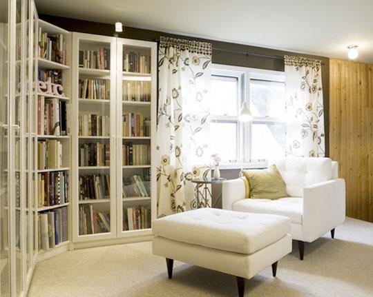 enclosed bookcase plans
