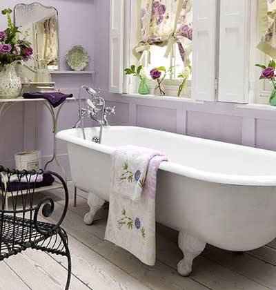 Lavender Bathroom From 50 Favorite Bathrooms At My Home Ideas