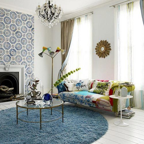 Creative Apartments: Round Rugs | Apartments i Like blog