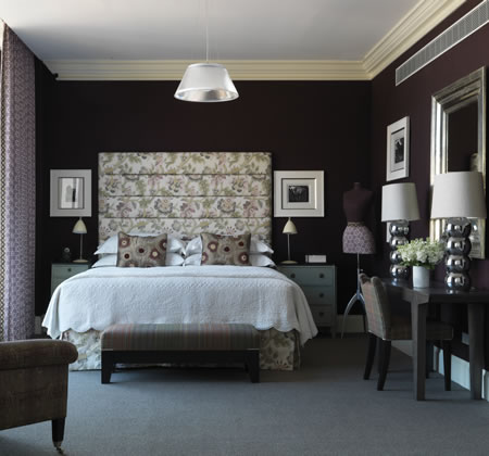 Bedroom inspiration from the crosby street hotel for Decorate your bedroom like a hotel room