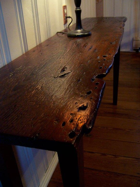 simple wood table