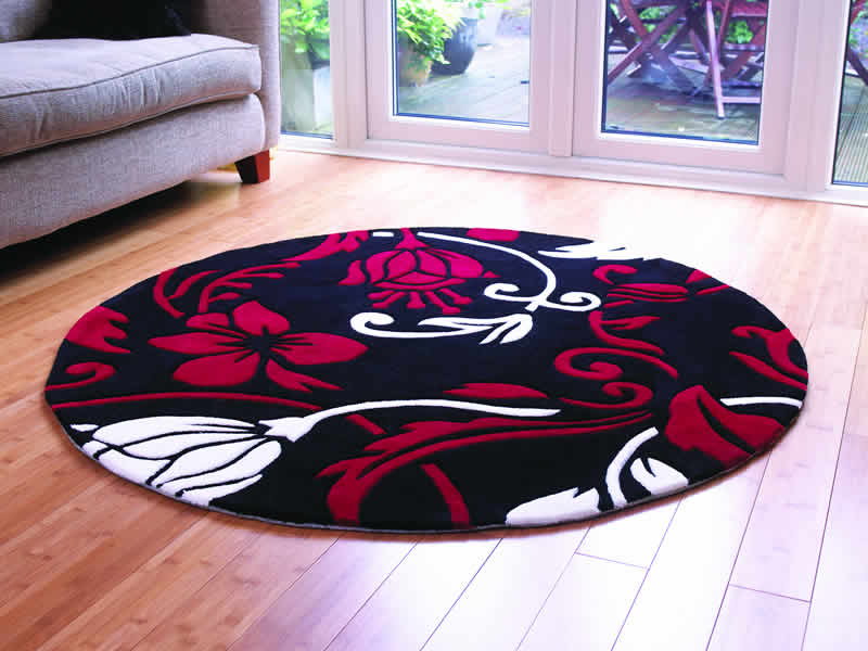 Compare Round Red Rug in Home Store at SHOP.COM