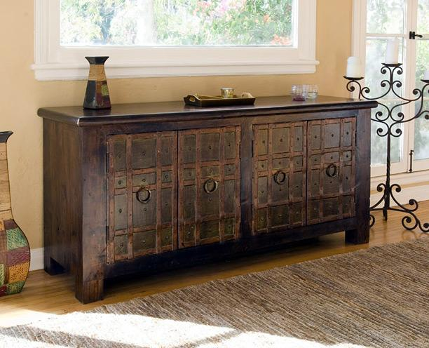Reclaimed Wood Sideboard ~ Reclaimed wood tables apartments i like