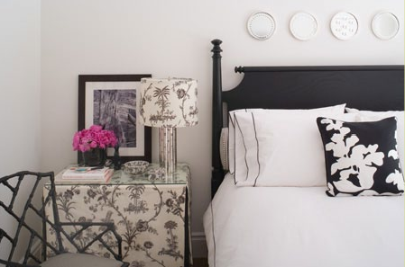 White black and pink decor apartments i like blog - White black and pink bedroom ...