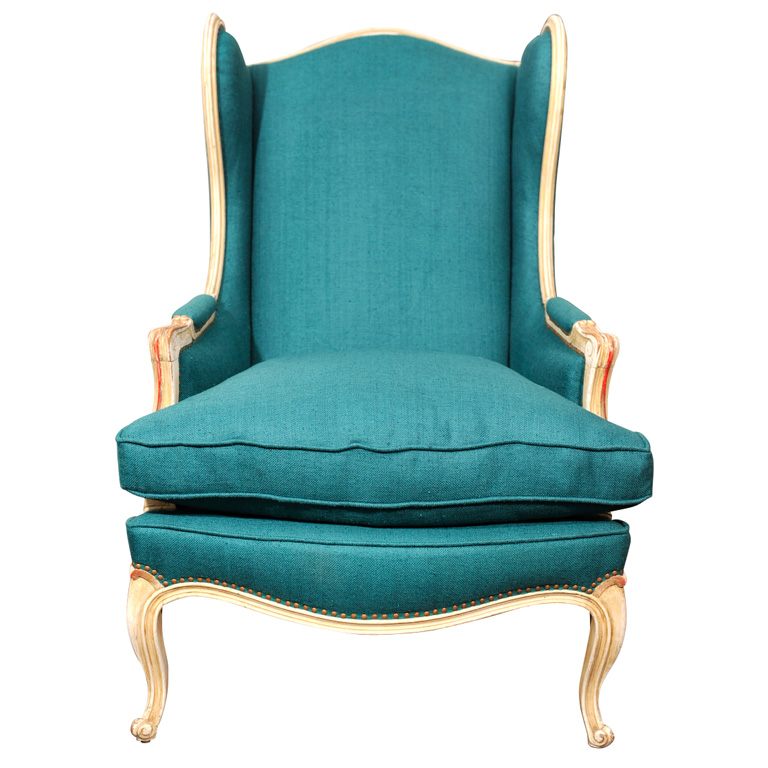 Fresh teal blue decor apartments i like blog for Small teal chair