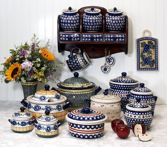 Apartments I Like Blog: Timeless Kitchenware: Polish Pottery