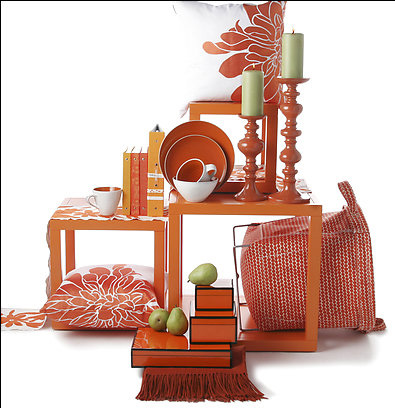 Burnt orange decor apartments i like blog for Home decor accents