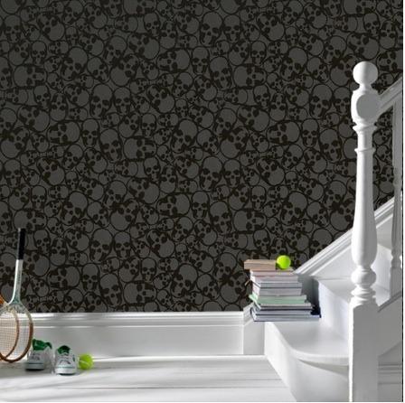 gallery for skull wallpaper home decor
