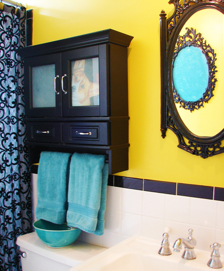 The Glamour of Tiled Bathrooms | Apartments i Like blog