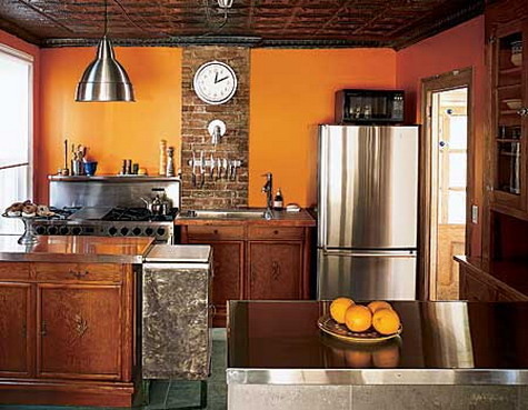 Mediterranean design apartments i like blog for What color to paint small kitchen