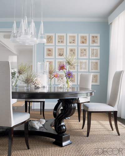 Blue Dining Room Decoration: Apartments I Like Blog