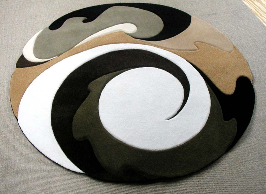 CONTEMPORARY ROUND AREA RUGS : Rugs Sale
