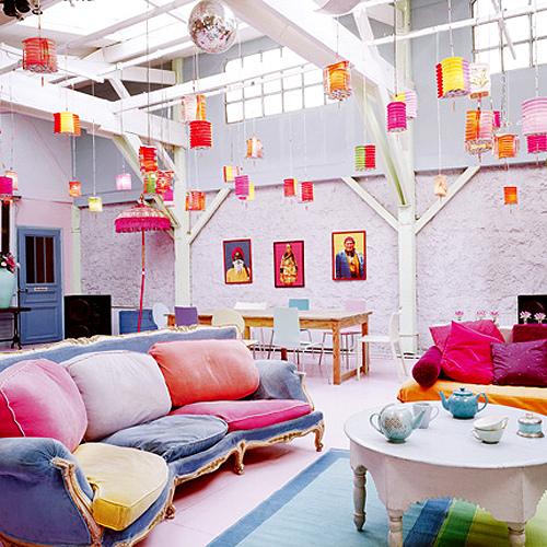 kolorowe wnętrze, wystrój, na kolorowo, pastelowe barwy, Pomysł na..., w kolorze, jak wprowadzić kolor do wnętrza, kolorowe mieszkanie