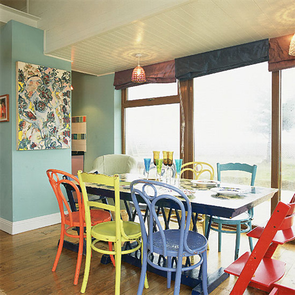 Different Color Dining Room Chairs - Dining Room 2017