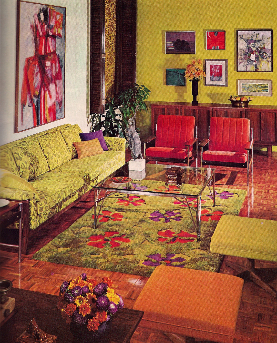 Vintage interior apartments i like blog for Retro dekoration