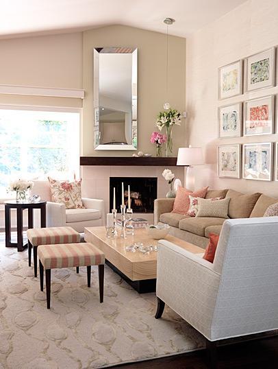 Decor pad living room