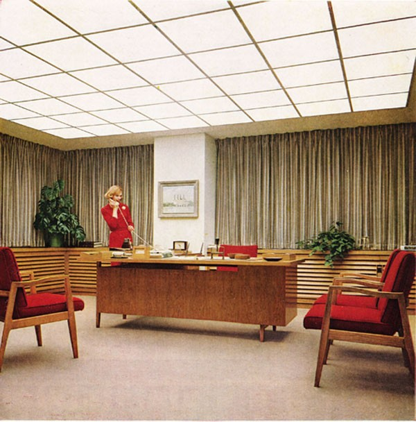 Mad men decor apartments i like blog for 60s office design