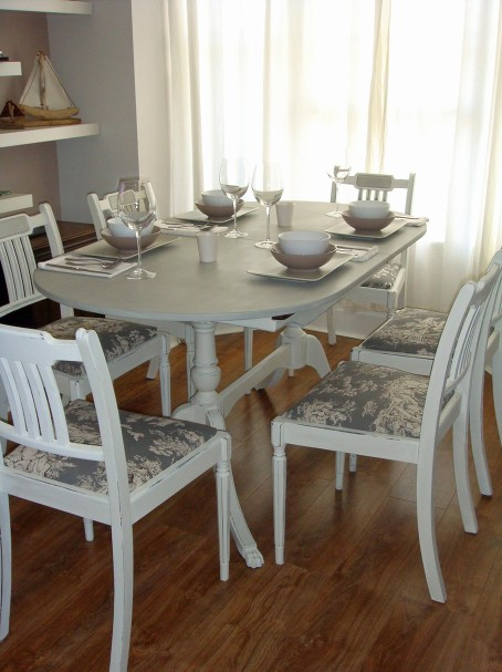 Emmaus pa apartments shabby chic dining rooms for Chic dining room ideas