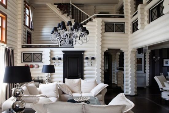 Unique Black White Interiors Apartments I Like Blog