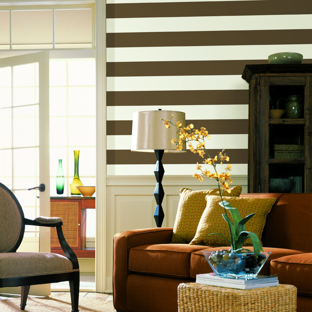 Decorating With Stripes For A Stylish Room: Apartments I Like Blog