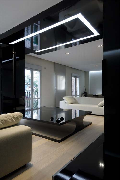 Dark interiors apartments i like blog - Casas de joaquin torres ...