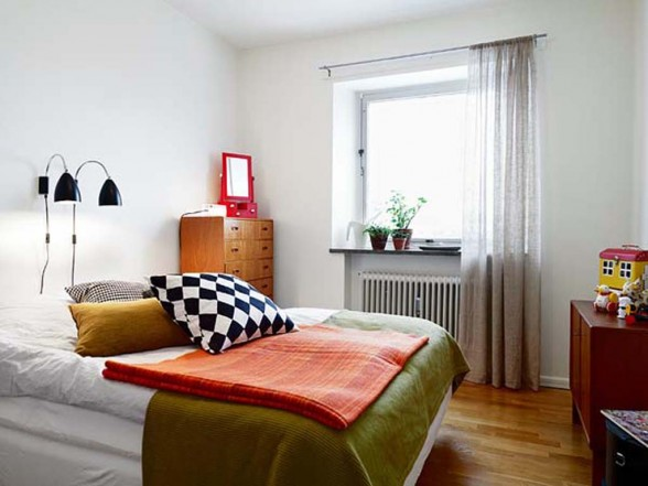 Vintage apartment looks apartments i like blog for Modern vintage bedroom designs