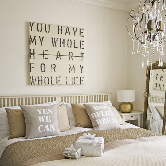 Romantic Bedroom Typography   Love Canvases from Box Brownie Trading
