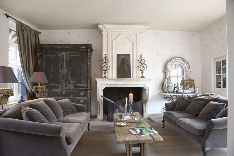 Shabby chic style apartments i like blog for French chic living room
