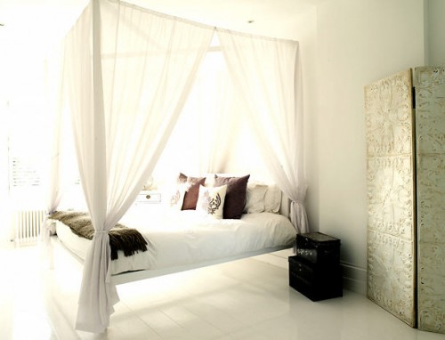 Canopy bed apartments i like blog for White canopy bed