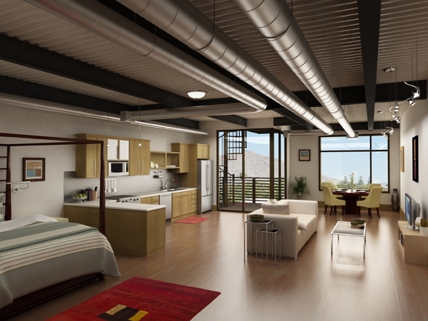 Open floor plans apartments i like blog for Modern loft apartment