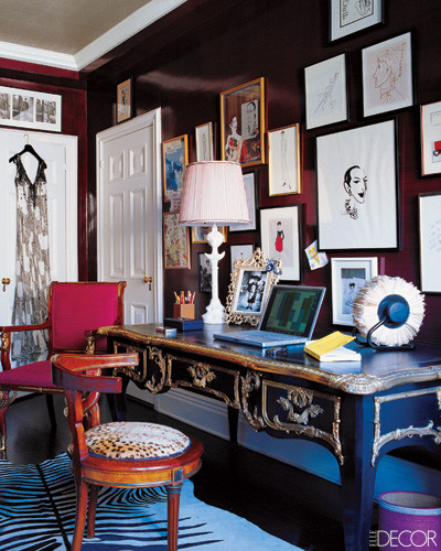 Eclectic Home Office home office | apartments i like blog