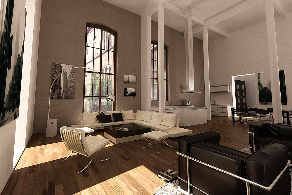 More lofts to love apartments i like blog for Design wohnung leipzig