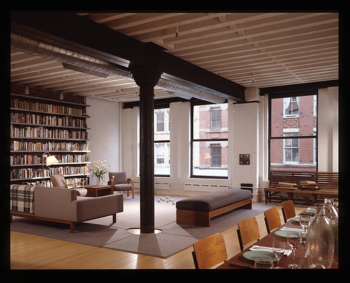 Brick Loft Apartment contemporary brick loft apartment industrial bedroom intended ideas