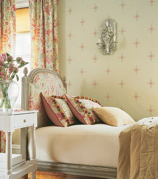 small apartment bedroom can look beautifully light with pale sage