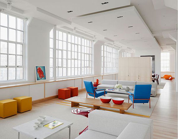 White Loft Interior Apartments I Like Blog