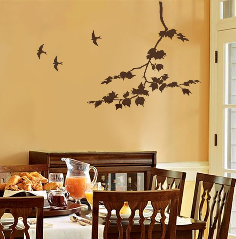 Wall art apartments i like blog for Dining wall painting