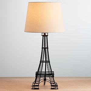 eiffel tower lamp2. Black Bedroom Furniture Sets. Home Design Ideas