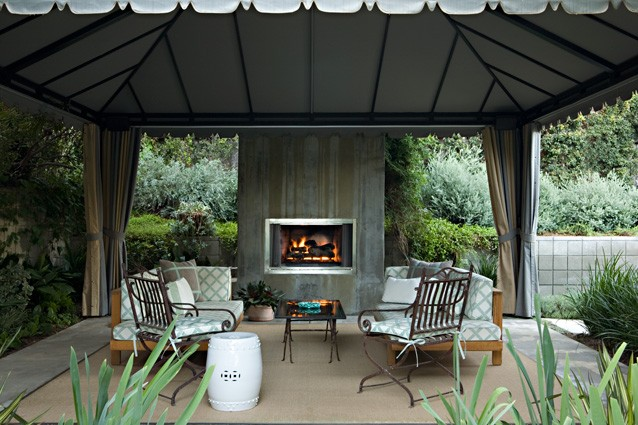 Gorgeous Outdoor Room Design By Sara Rosenhaus Interior Design.