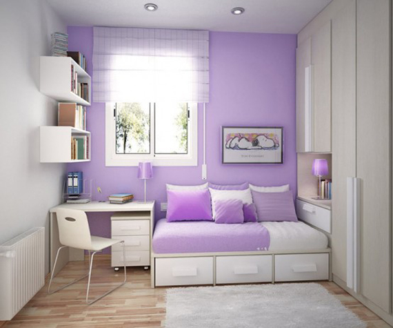 Purple Bedroom Ideas: Apartments I Like Blog